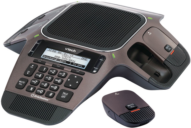 Photograph of VTech VCS754A IP Conference Phone