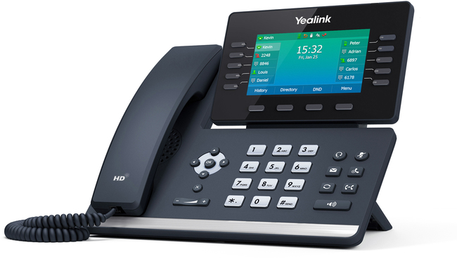 Photograph of Yealink T54W IP Phone