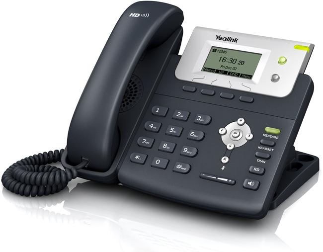 Photograph of Yealink T21P IP Phone