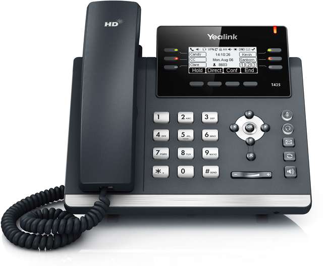 Photograph of Yealink T42S IP Phone