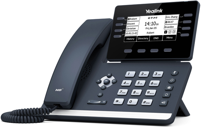 Photograph of Yealink T53W IP Phone