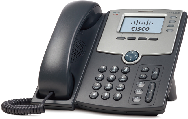 Photograph of Cisco SPA 504G IP Phone