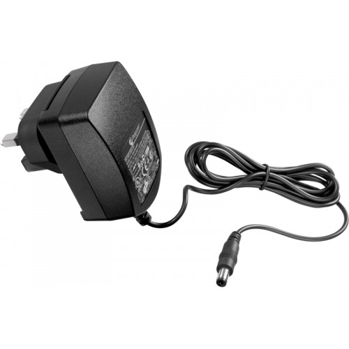 Photograph of Polycom 12V, 0.5A UK Power Supply (for the VVX 101/201)
