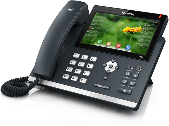 Photograph of Yealink T48S IP Phone