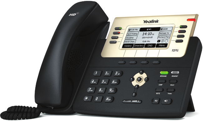 Photograph of Yealink T27G IP Phone