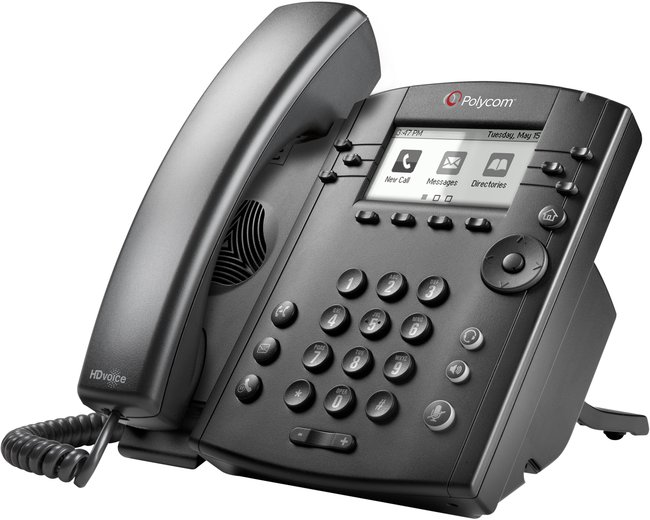 Photograph of Polycom VVX 311 IP Phone