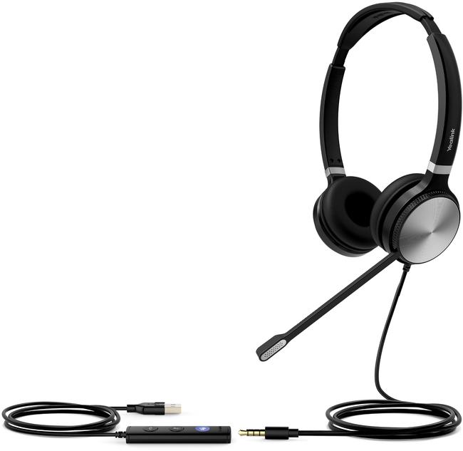 Photograph of Yealink UH36 Binaural Headset