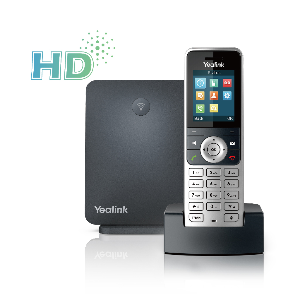 Photograph of Yealink W53P DECT (Base and W53H Handset)