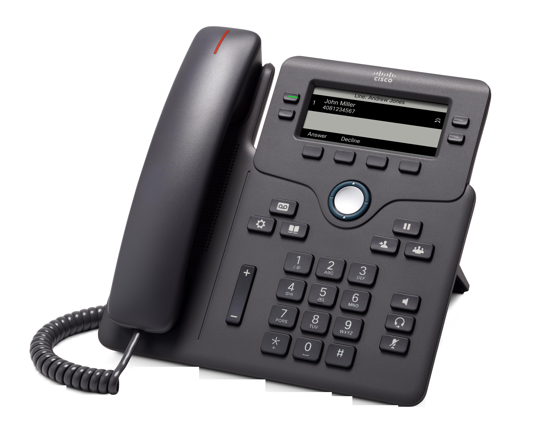 Photograph of Cisco 6851 SIP Phone (No PSU)