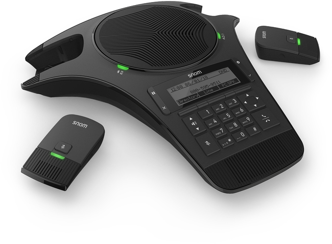 Photograph of Snom C520 IP Conference Phone