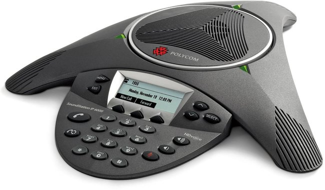 Photograph of Polycom SoundStation IP 6000 Conference Phone