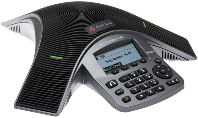 Photograph of Polycom SoundStation IP 5000 Conference Phone