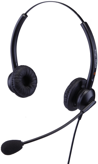 Photograph of Eartec 308D Binaural Wired Headset