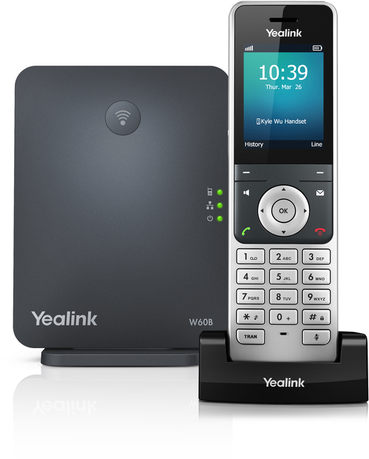Photograph of Yealink W60P DECT (Base and W56H Handset)