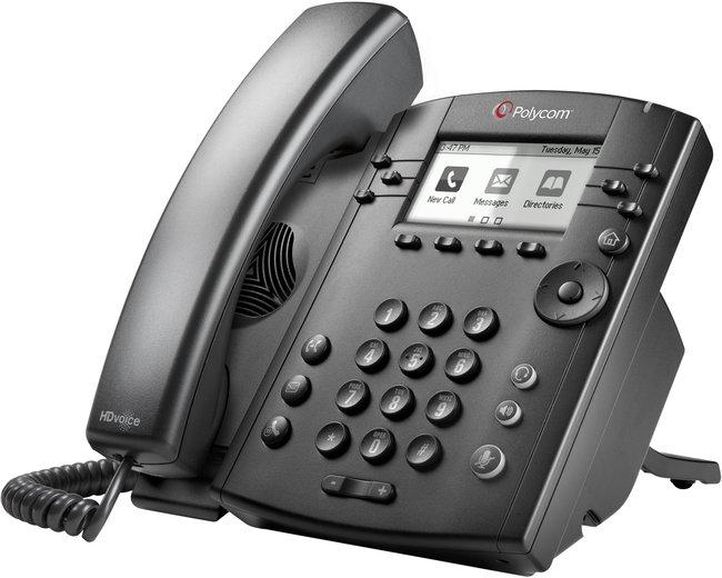 Photograph of Polycom VVX 301 IP Phone